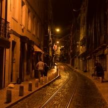 Lissabon 2015 - Seitenstraße Parka Rossio