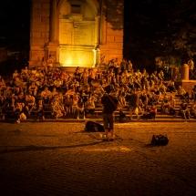 Rom 2017 - Trastevere Piazza Trilussa
